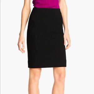 DVF Black Pencil Skirt Sz 14